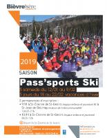 affiche ski 2019
